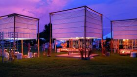Image of a 10 x 10 Luminary Tent