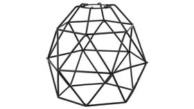 Image of a Geo Cage - Black