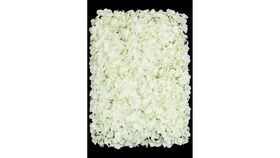 Image of a Floral Wall - 8'x8' - Ivory