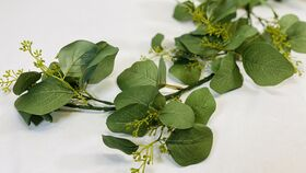 Image of a 5' Seeded Eucalyptus Garland