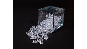 Image of a Clear Acrylic Ice Gem - Large