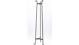 """Image of a Black Wrought Iron Plant Stand 62"""""""