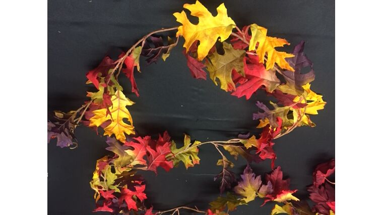 Picture of a Fall Garland - Colorful