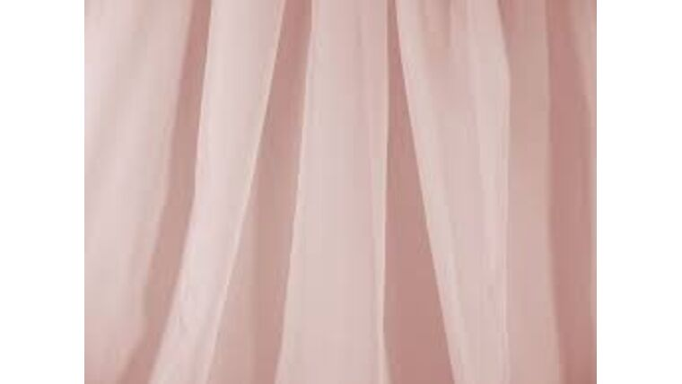 "Picture of a 10' 120"" Voile Blush Backdrops Panel"