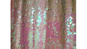 Image of a 8' 8' Big Coin Sequins Princess Backdrops