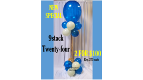 Image of a 9 Stack Columns Special. 2 for $100.00