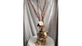 Image of a Rustic Tin Centerpiece