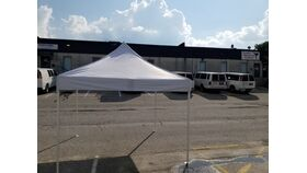 Image of a 10 X 10 White Tent