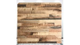 Image of a 8' 8' Wood Planks Rustic Wall Pillowcase Backdrop