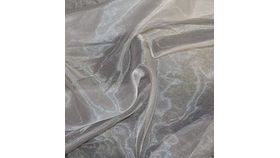 Image of a Silver Organza Swoops