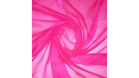 Image of a Shocking Pink Organza Swoops