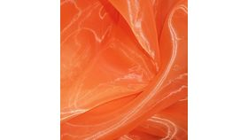 Image of a Orange Organza Swoops