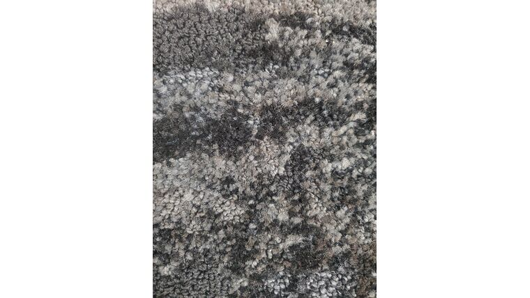 Picture of a 4' 25' Black Patterned Carpet Runner