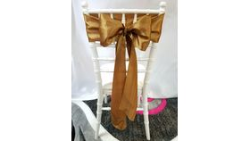 Image of a Antique Gold Satin Sashes