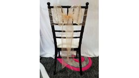 Image of a Blush Organza  Sashes