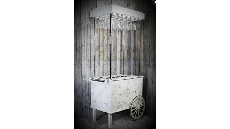 Picture of a Beverage  Cart