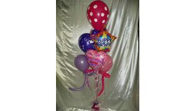 Image of a #7 Mixed  Balloon Bouquet