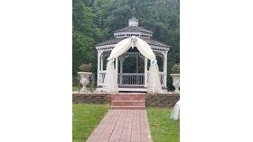 Image of a Organza Wedding Ceremony Arch