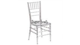 Image of a Clear Acrylic Chiavari Chair