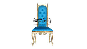 Image of a Petite Blue Throne