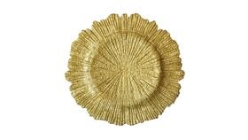 Image of a Gold Leaf Charger