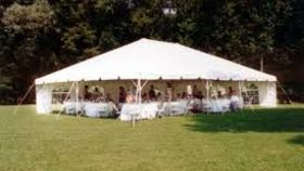 Image of a 30X30 Frame Tent