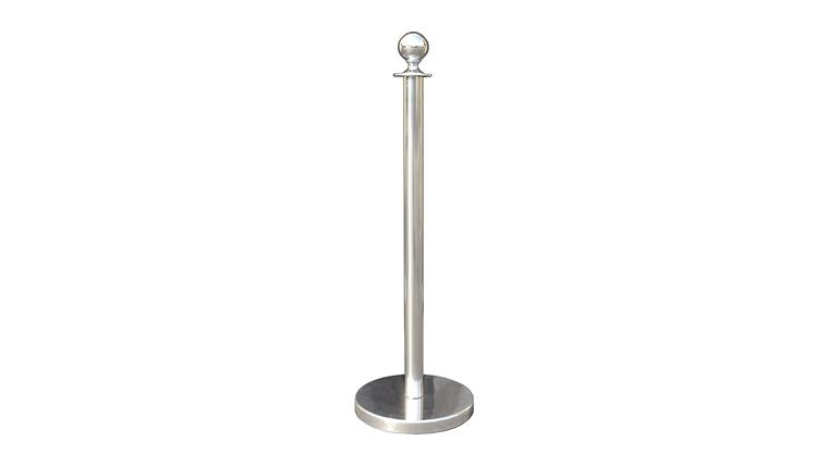 Picture of a Chrome Stanchion