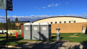 Image of a Single Portable Restroom - Individual Event Portable Toilet