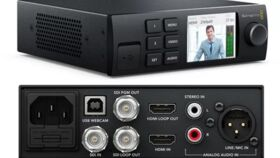 Image of a Blackmagic Design Web Presenter
