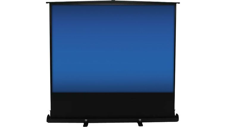 "Picture of a 90"" fast fold screen"