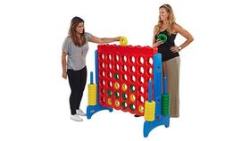 Image of a Jumbo Connect 4 - Let the fun begin with Large Connect-4