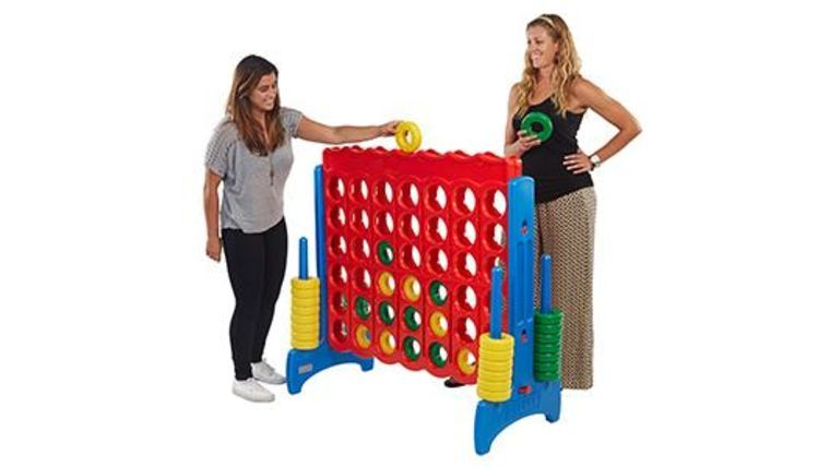 Picture of a Jumbo Connect 4 - Let the fun begin with Large Connect-4