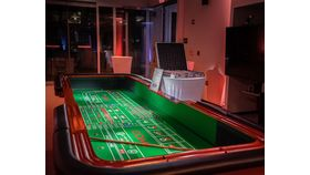 Image of a Craps Casino Table