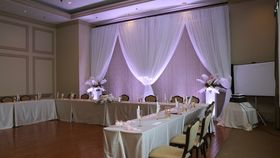Image of a Drape Backdrop
