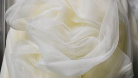 Image of a Ivory Drape (Sheer) 22'