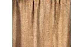 Image of a Burlap Drape 12'