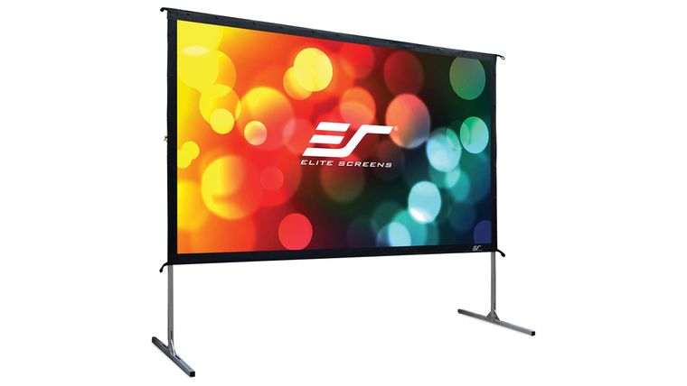 Picture of a 5.6'x10' Fast Fold Screen
