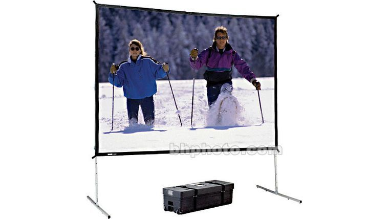Picture of a 9'x12' Rear& Front Projection Screen