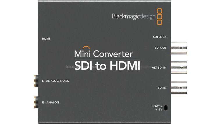 Picture of a Black Magic Boxes SDI to HDMI 4K