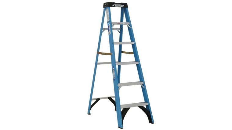 Picture of a 6' Blue Ladder (light)