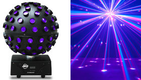 Image of a MultiColor Disco Ball Effect- ADJ STARBURST Ball