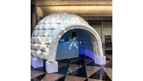Image of a Inflatable Igloo