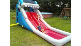 Image of a Great White Water Slide