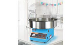 Image of a Blue Cotton Candy Machine