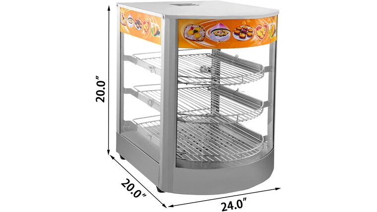 Picture of a 25-Inch Commercial Food Warmer