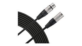 Image of a 100' Black Xlr to Xlr Audio Cables