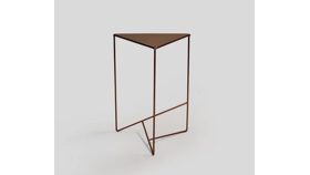 Image of a Bailee Bronze Side Table