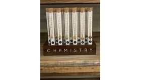 Image of a Chemistry Necklace-Aluminum