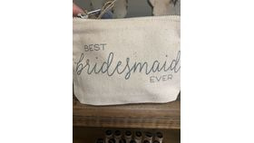 Image of a Best Bridesmaid Pouch
