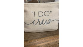 Image of a I Do Crew Pouch